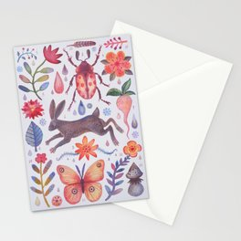 Et coloris natura V Stationery Cards