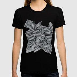 Abstract Mountain Grey T-shirt