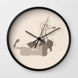 In the end trust will lead to despair Wall Clock