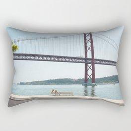 Jackie Lisbon Rectangular Pillow