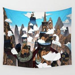 village Wall Tapestry
