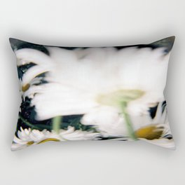 Blurred Daisy  Rectangular Pillow