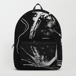 BACK TO BLACK OUD - madewithunicorndust by Natasha Dahdaleh Backpack