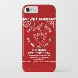 Bernie Sanders Sriracha Style Feel The Bern iPhone Case