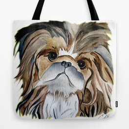 Pekingese Dog Love Dogs Tote Bag