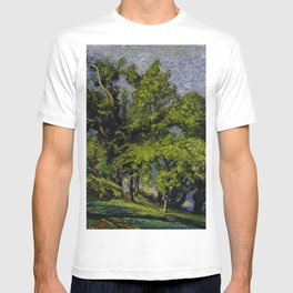 Chestnut Trees above a River T-shirt