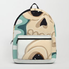 very scary skull Backpack