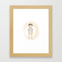 Bedtime Framed Art Print