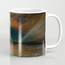 Aurora Borealis by Frederic Edwin Church Coffee Mug