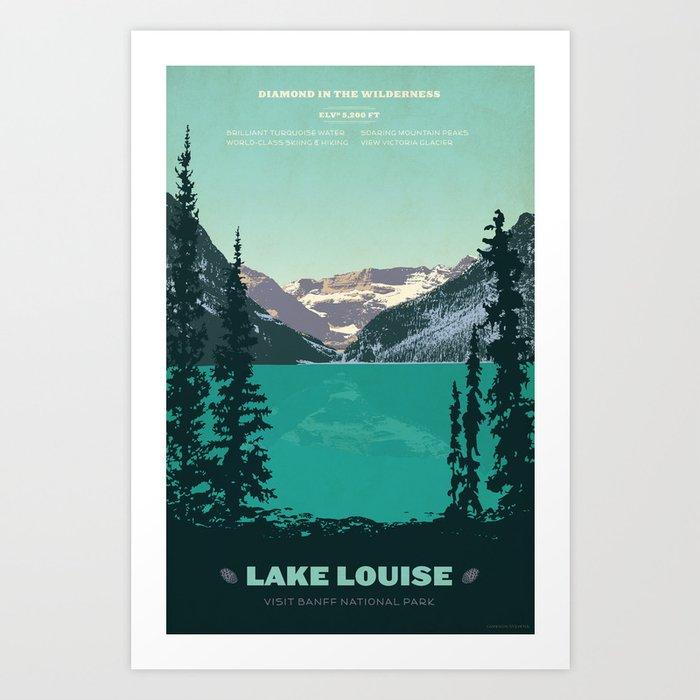 Lake Louise Kunstdrucke