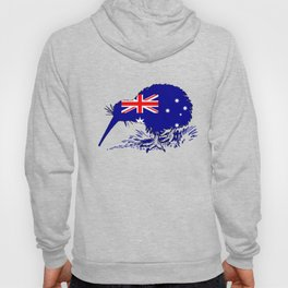 Australian Flag - Kiwi Bird Hoody