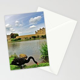 Black Swans at Leeds Castle I Stationery Cards