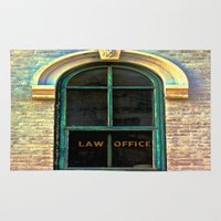 office Area & Throw Rugs featuring Law Office by Biff Rendar