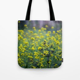 Yellow flowers of the Volcán Irazú Tote Bag