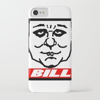 bill iPhone & iPod Cases featuring BILL by KINGOFTHERATS
