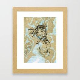 Canaria Framed Art Print