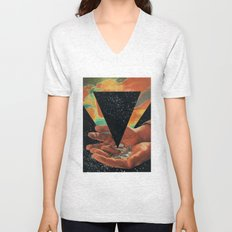 disruption of his world... (Paradise) Unisex V-Neck