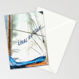 The Sails Of Unal Kaptan Stationery Cards