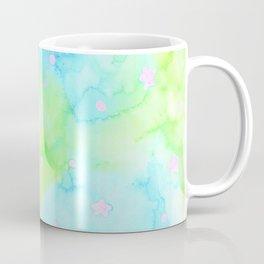Starry Night Mint Tea Coffee Mug