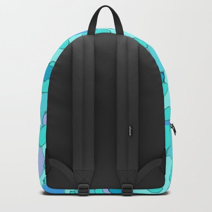 Camo Aqua Backpack