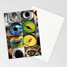 Animal's Eyes Stationery Cards