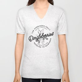 Dingleberries it's a treasure Unisex V-Neck