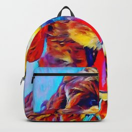 Goldendoodle 2 Backpack