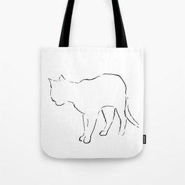 Cat 7 Tote Bag
