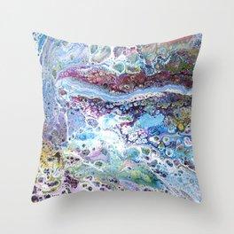 Rainbow Serpent Throw Pillow