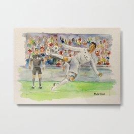 Cristiano Ronaldo — Professional Footballer Metal Print