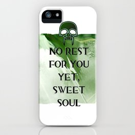 No Rest iPhone Case