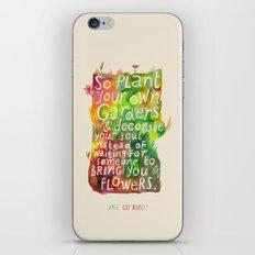 Jorge Luis Borges iPhone & iPod Skin