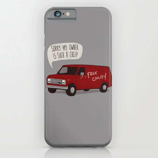 Creeper Van iPhone & iPod Case