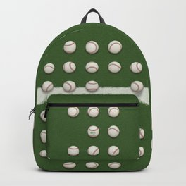 Balls On Green Field Backpack