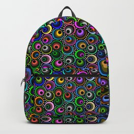 Crazy Scattered Marbles Backpack