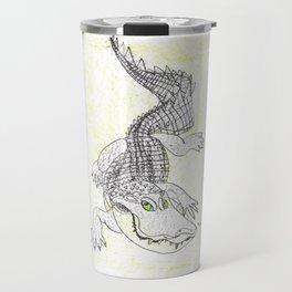 Smiling Gator Travel Mug