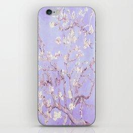 Vincent Van Gogh Almond Blossoms  Lavender iPhone Skin