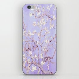 Vincent Van Gogh Almond Blossoms  Lavender iPhone Skin