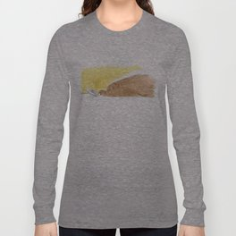 Bear is tired of fish Long Sleeve T-shirt