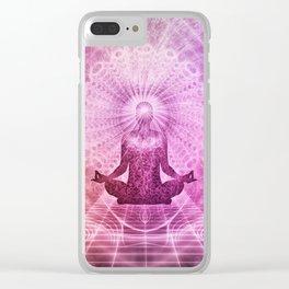 Meditation & Yoga #1000 SOCIETY6 Clear iPhone Case