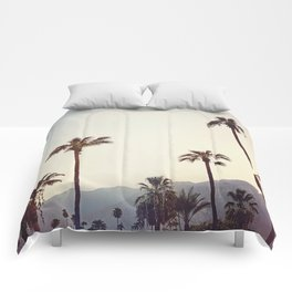 Palm Trees in the Desert Comforters