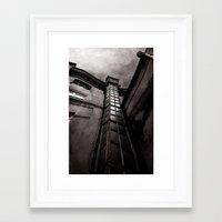 dark tower Framed Art Prints featuring The Dark Tower by Margarita Dunwich
