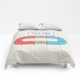 Opposites Attract Comforters