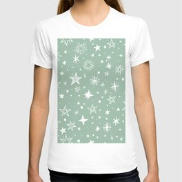 Multiple shapes and sizes stars XIV T-shirt