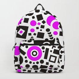 Black versus Pink Backpack