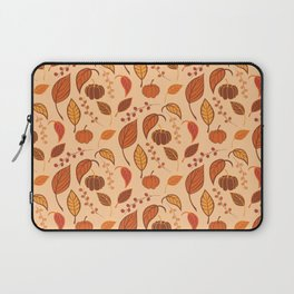 Leaves and pumpkins Laptop Sleeve