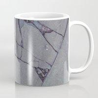rocky Mugs featuring rocky by Amanda Stockwell