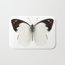 White butterfly species Apias indra indra Bath Mat