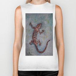 Salamander by Carla Dracus Biker Tank
