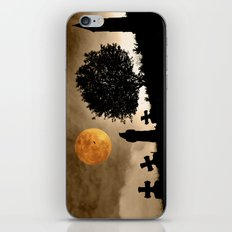 The old graveyard iPhone & iPod Skin